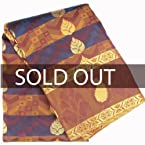 Kanchipuram Blue with Gold Color Uppada Silk Saree