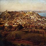 Victor Meirelles Estudo para Panorama do Rio de Janeiro c. 1885 38 X 38 Canvas Art Print Do It Yourself (DIY)