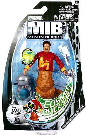 Men In Black 3 Basic 4 Inch Action Figure Mr. Wu - 1