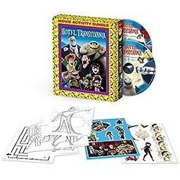 Hotel Transylvania Movie Activity Bundle (Hotel Transylvania Blu-ray Combo Pack + Hotel Transylvania 2 Blu-ray Combo Pack Pre-order Bounceback + Activity Set) [Eligible for $7.50 Movie Cash]