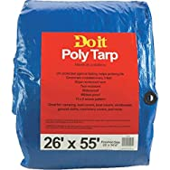 Do it Medium Duty Blue Poly Tarp-26X55 BLUE MED DUTY TARP