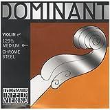 トマスティーク ヴァイオリン弦  ドミナント E線 ボールエンド1/2 ミディアムテンション クロムスチール 129