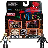 Marvel MiniMates Thor and Nick Fury