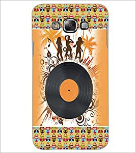 PrintDhaba Music D-4188 Back Case Cover for SAMSUNG GALAXY A7 (Multi-Coloured)