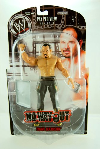 Buy Low Price Jakks Pacific WWE – 2008 – No Way Out – Pay Per View – Series 18 – Chavo Guerrero – Action Figure – Limited Edition – Collectible (B001QN7FIA)