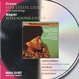 Richard Strauss : Quatre derniers Lieder - Wagner : Wesendonck-Lieder / Jessye Norman
