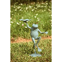 Dancing Frog Bird Feeder