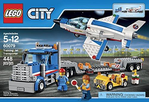 Lego City Space Port  Training Jet Transporter Building Kit