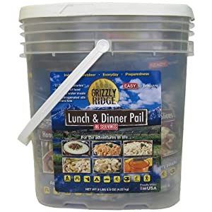 Grizzly Ridge Lunch and Dinner Pail by Grizzly