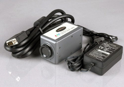 CCD Microscope Video Camera for Digital TV (LCD) or PC Monitor Display