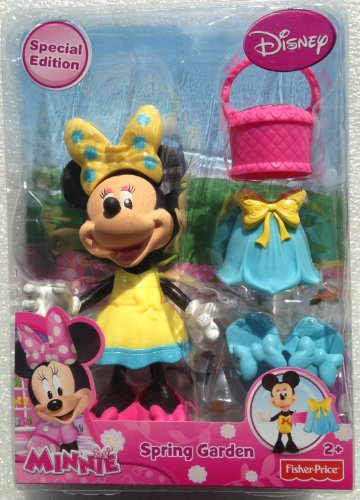 Disney Minnie Mouse Spring Garden Special Edition Figure and Accessories (Fisher Price Clip On Dolls compare prices)