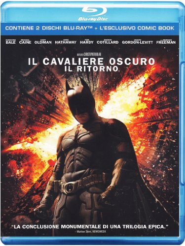 Il cavaliere oscuro - Il ritorno (+comic book) [Blu-ray] [IT Import]