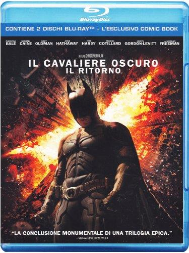 Il cavaliere oscuro - Il ritorno(+comic book) [Blu-ray] [IT Import]