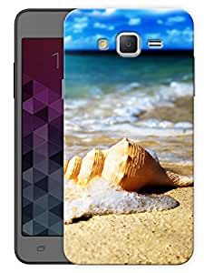 "Humor Gang Beach Life Shell Printed Designer Mobile Back Cover For ""Samsung Galaxy On5"" (3D, Matte, Premium Quality Snap On Case)"