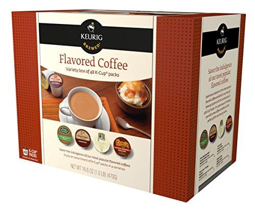 Keurig Flavored Coffee Variety Pack Keurig K-Cups, 48 Count (Individual Keurig compare prices)