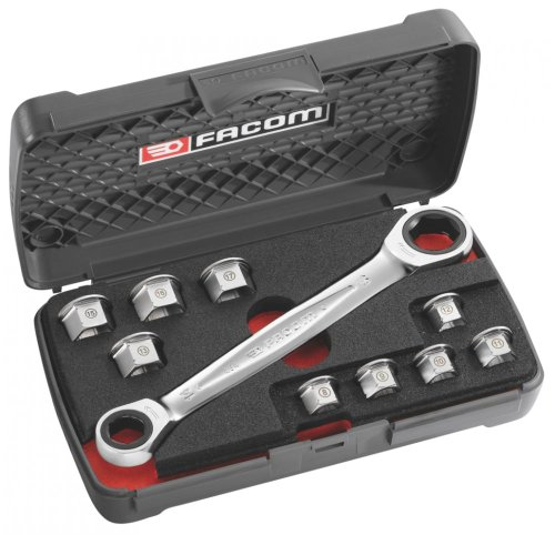 Facom - 11 in 1 Wrench Set - Ratcheting Wrench Set