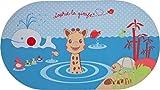 Vulli 523512 - Alfombrilla de ba�o con indicador de temperatura, dise�o de Sophie la jirafa