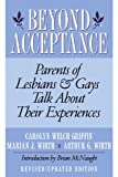 img - for Beyond Acceptance: Parents of Lesbians & Gays Talk About Their Experiences book / textbook / text book
