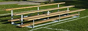 Build Your Own 16 Tier Outdoor Bleacher from Bison Sports