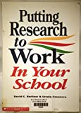 img - for Putting Research to Work in Your School book / textbook / text book
