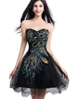 Favebridal Women's Short Cocktail Dress Prom Party Gown FSD039
