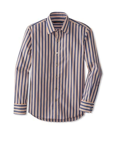 Zachary Prell Men's Philippi Striped Long Sleeve Shirt