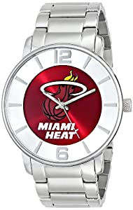 Buy Game Time Mens NBA All Pro Slim Case Watch - Miami Heat by Game Time