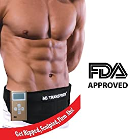 Ab Transformer GOLD Limited Edition - As Seen on TV Hollywood Limited Edition Ab Total Transformation Toning Fitness Exercise Belt for Men & Women (Get Firm Ab)