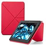 "Amazon Kindle Fire HDX Standing Polyurethane Origami Case (will only fit Kindle Fire HDX 7""), Pink"