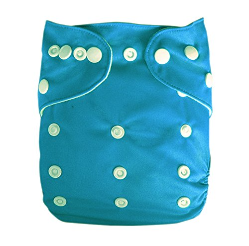 Besto Baby One Size Fit All Pocket Cloth Diaper Cover Reusable Washable Fit 6-33 Lbs 0B05 back-922894