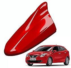 RedClub - Premium Fire Red Colour Shark Fin Replacement Signal Receiver Antenna for Maruti Suzuki Baleno