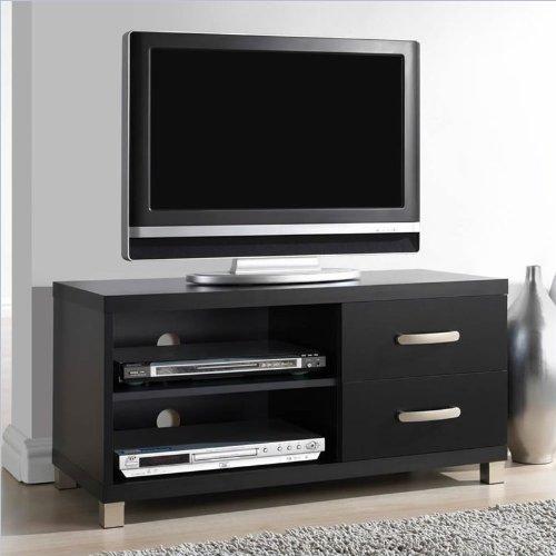 55 Inch Tv Stand Espresso Living Room Entertainment Center