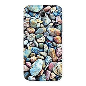 Water Pebbels Multicolor Back Case Cover for Galaxy Mega 5.8