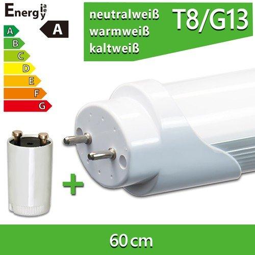LEDVero 1x LEDVero T8 SMD-LED Röhre 60cm - 8W - Warmweiß