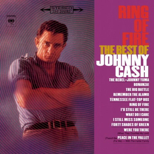 Ring of Fire: The Best of Johnny Cash artwork
