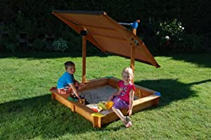 gaspo mickey ii bac sable avec toit parasol orientable jeux et jouets. Black Bedroom Furniture Sets. Home Design Ideas