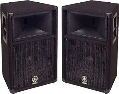 "Yamaha S112V 2-Way 12"" Club Series V Speaker Pair by Yamaha"