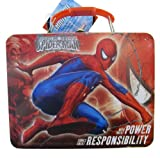 Disney Spider Man Power & Responsibility Embossed Metal Lunch Box