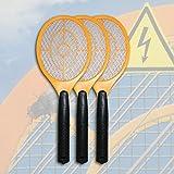 3 x Elektrische Gelb Fliegenklatsche Insektenvernichter...