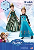 Simplicity Creative Patterns 1222 Frozen Coronation Day Costumes for Children, A (3-4-5-6-7-8)