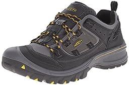 KEEN Men\'s Logan Outdoor Shoe, Black/Tawny Olive, 11 M US