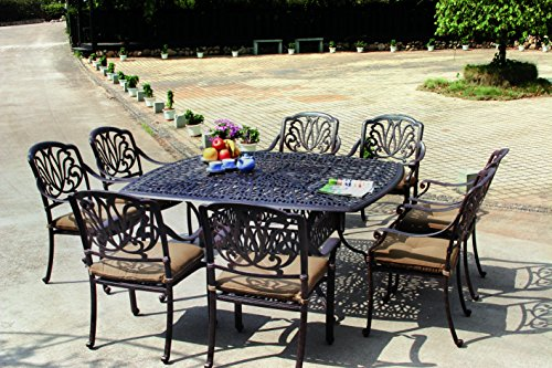 Darlee-Elisabeth-Cast-Aluminum-9-Piece-Dining-Set-with-Seat-Cushions-and-64-Inch-Square-Dining-Table-Antique-Bronze-Finish