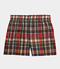 Fruit of the Loom Boys' 5pk Tartan Boxer
