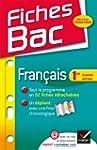 Fiches Bac: Francais 1re Toutes Series