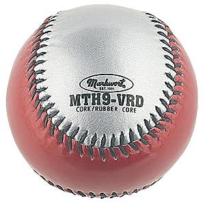 Buy Markwort Mirror-Tint Two-Color Baseballs (Dozen) by Markwort