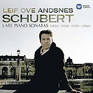 Schubert : Dernières sonates pour piano : D850, D958, D959, D960