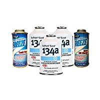 AC Refrigerant Package 3 Cans DuPont R-134a, Oil Charge & Stop Leak by Johnsen's DuPont