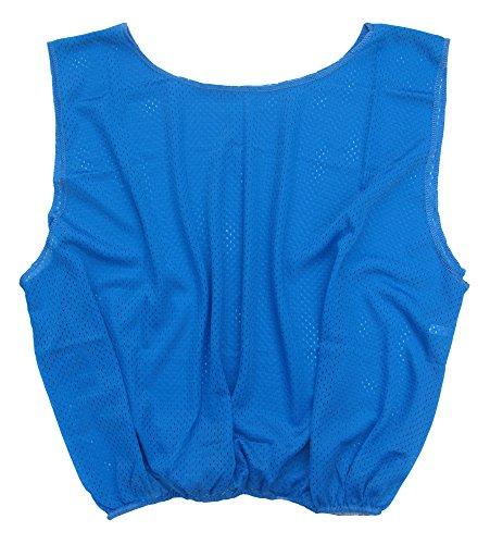 A&R Sports Scrimmage Vest, Senior, Royal Blue