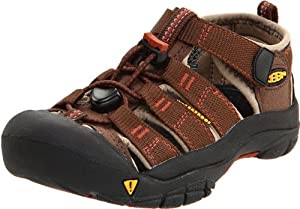 KEEN Newport H2 Sandal (Toddler/Little Kid/Big Kid),Slate Black/Burnt Henna,6 M US Big Kid