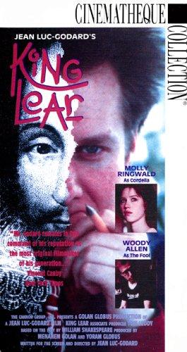Jean Luc-Godard's King Lear [VHS]